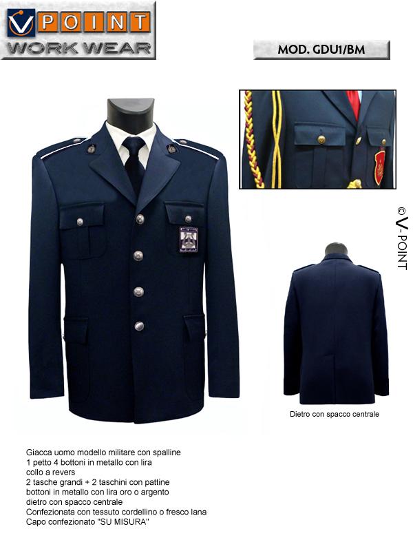 giacca uomo.modello.militare